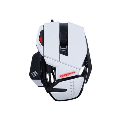 Mad Catz R.A.T. 4+ Muis - Wit