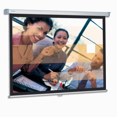 Projecta SlimScreen 180x180 Matte White S Projectiescherm