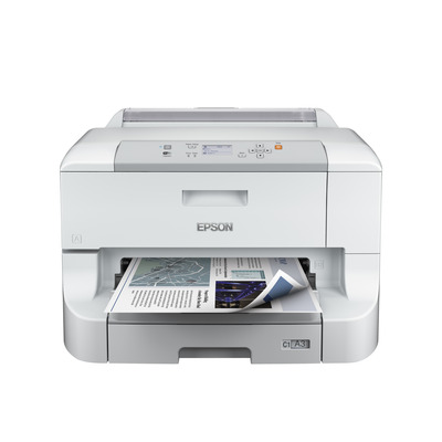 Epson WorkForce Pro WF-8010DW Inkjet printer - Zwart, Cyaan, Magenta, Geel
