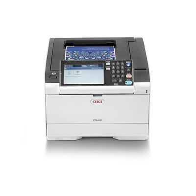 OKI C542dn laserprinter - Zwart, Cyaan, Magenta, Geel