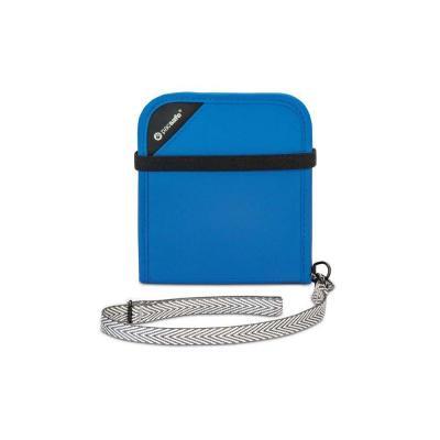Pacsafe portemonnee: V100 - Blauw