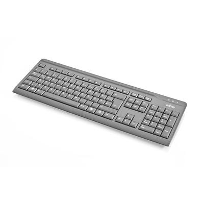 Fujitsu KB410 - QWERTY Toetsenbord - Zwart