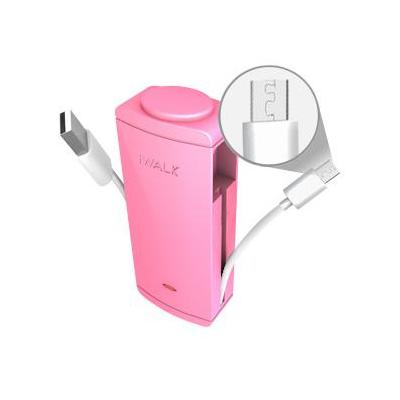 Iwalk powerbank: Charge it+ - Roze