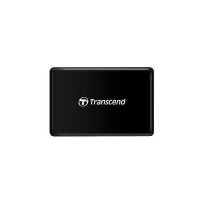 Transcend RDF8 Geheugenkaartlezer - Zwart