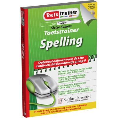 Karakter educatieve software: Toetstrainer Taal, Spelling (Groep 7-8)
