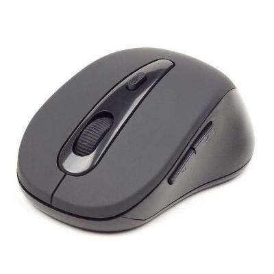 Gembird 800 – 1600 DPI, Bluetooth Computermuis - Zwart, Grijs