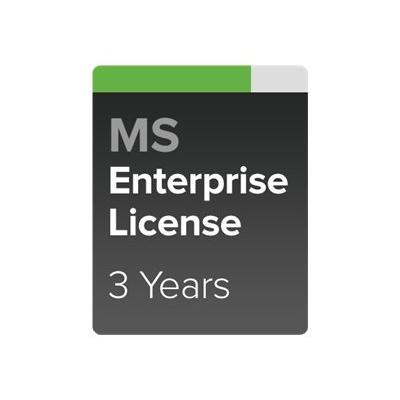 Cisco Meraki Enterprise - Subscription license (3 years) + 3 Years Enterprise Support - 1 switch Garantie