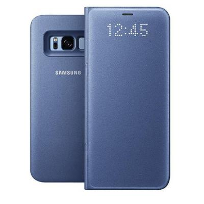 Samsung mobile phone case: Galaxy S8 LED View Cover Blauw