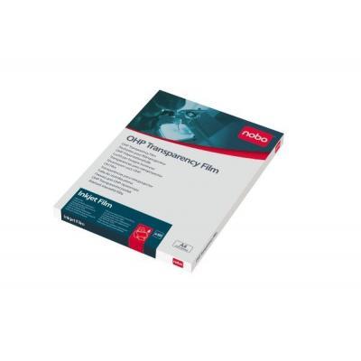 Nobo transparante film: Overheadprojector Transparanten Inkjetprinter (50)