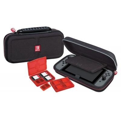 Bigben interactive portable game console case: Deluxe travel case for Nintendo Switch, Black - Zwart