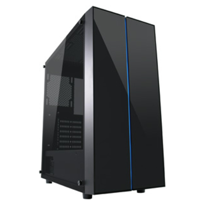 LC-Power Gaming 994B - Vitreous Behuizing - Zwart