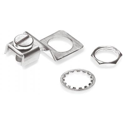 Spaun EDKL 2 Set Kabelklem - Zilver
