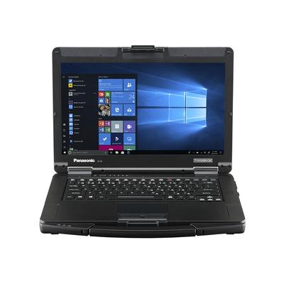 Panasonic Toughbook 55 Full-HD Touch - QWERTY Laptop - Zwart,Zilver