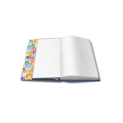 Herma tijdschrift/boek kaft: 26300 - Blauw