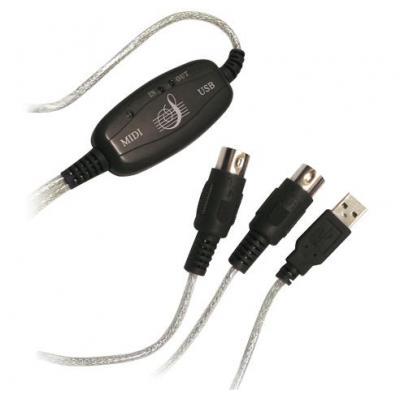 LogiLink UA0037 MIDI adapter