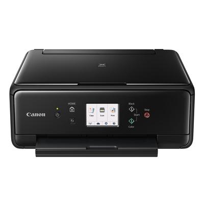 Canon multifunctional: PIXMA TS6050 - Zwart, Cyaan, magenta, Zwart Pigment, Geel
