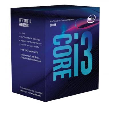Intel processor: Core Intel® Core™ i3-8350K Processor (8M Cache, 4.00 GHz)