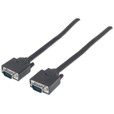 Manhattan 11748 VGA kabel  - Zwart