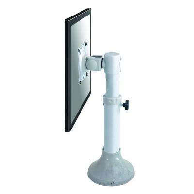"""Newstar monitorarm: De FPMA-D025SILVER is een bureausteun voor flat screens t/m 30"""" (76 cm) - Zilver"""