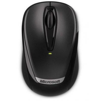 Microsoft computermuis: WMM3000 - Zwart