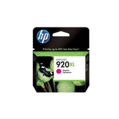 Hp inktcartridge: 920XL originele high-capacity magenta inktcartridge