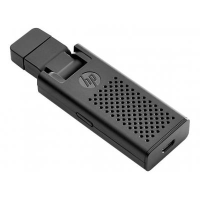 Hp laptop accessoire: Wireless Display Adapter - Zwart