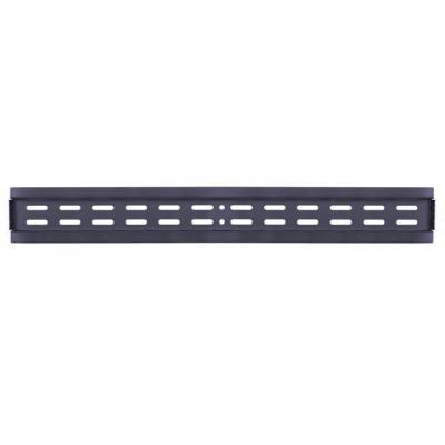 Multibrackets muur & plafond bevestigings accessoire: M Public Video Wall Mount Rail 760mm, Black - Zwart