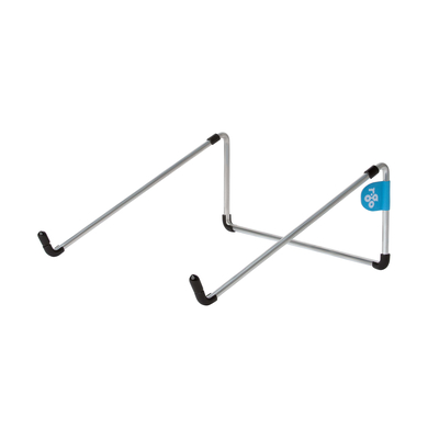 R-Go Tools R-Go Steel Basic Laptopstandaard, zilver Notebooksteun