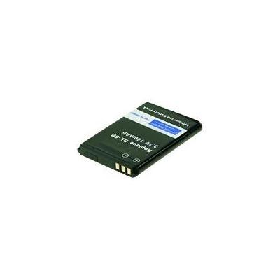 2-power batterij: MBI0001A - Zwart