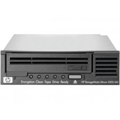 Hewlett packard enterprise tape drive: StorageWorks LTO5 Ultrium 3000 SAS - Zwart