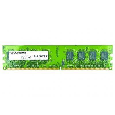 2-power RAM-geheugen: 4GB DDR2 800MHz DIMM - Groen