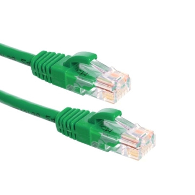 EECONN Cat.6 U/UTP Patchkabel, AWG24, LSZH, Groen, 5m Netwerkkabel