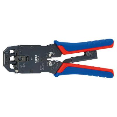 Knipex Crimping Pliers, Burnished Tang