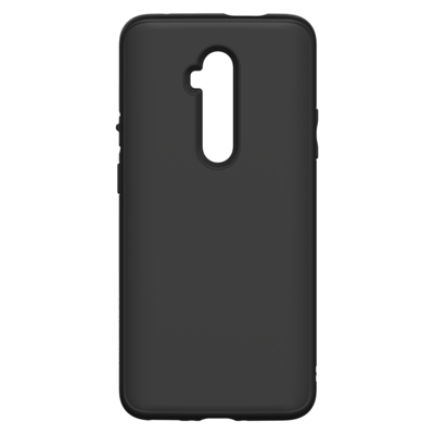 SolidSuit Backcover OnePlus 7T Pro - Classic Black - Zwart / Black Mobile phone case