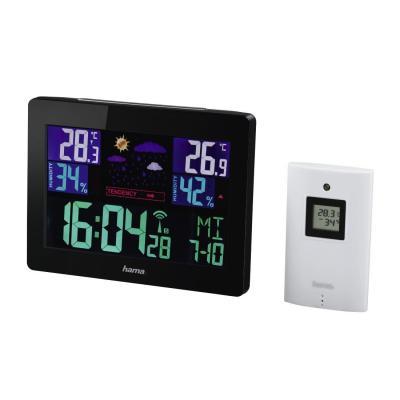 Hama weerstation: Color EWS-1400 - Zwart