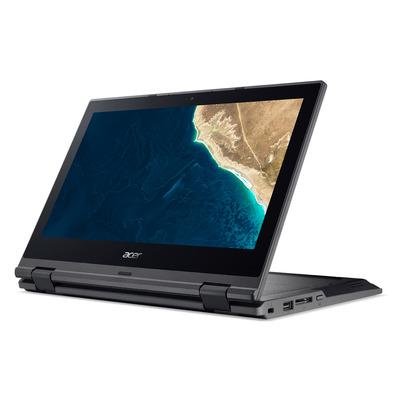 Acer TravelMate TMB118-G2-R-C6RX - QWERTY Laptop - Zwart