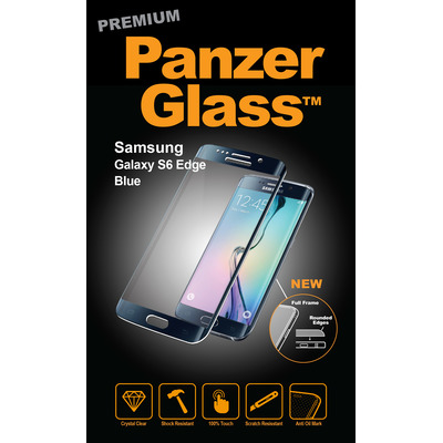 PanzerGlass Samsung Galaxy S6 Edge Curved Edges Screen protector - Transparant