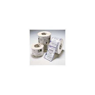 Zebra etiket: 1-Pack Label DT 4X6 475/ROLL PE DQP 3000 - Wit