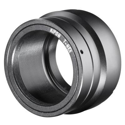 Kipon lens adapter: Adapter for T2/Sony E, Black - Zwart