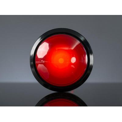 Adafruit : Massive Arcade Button with LED - 100mm Red