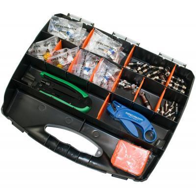 Hirschmann electrische connectorsamensteller: Connector koffer België