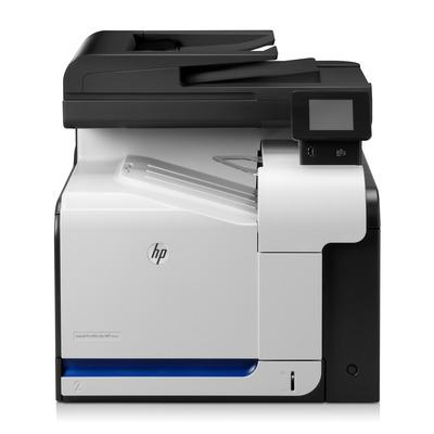 HP Color LaserJet Pro 500 M570dn Multifunctional - Zwart, Cyaan, Magenta, Geel