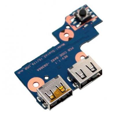 Samsung notebook reserve-onderdeel: USB Board - Blauw