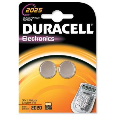 Duracell batterij: 3.0V, Coin, Lithium, 2 Pack, 18 g - Grijs