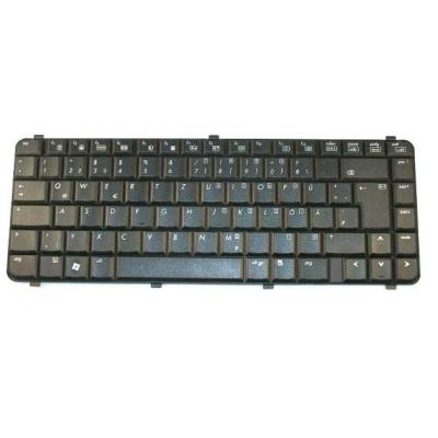 HP Nootebook keyboard (EUROR3) notebook reserve-onderdeel - Zwart