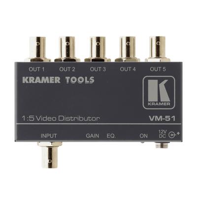 Kramer Electronics Kramer VM-51 Distr. Versterker Video-lijnaccessoire - Grijs