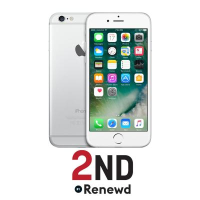 2nd by renewd smartphone: Apple iPhone 6 refurbished door 2ND - 64GB Zilver (Refurbished AN)