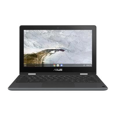 "ASUS Chromebook Flip C214MA-BW0143 11,6"" Touch Celeron N 4GB RAM 32GB eMMC Laptop - Grijs"
