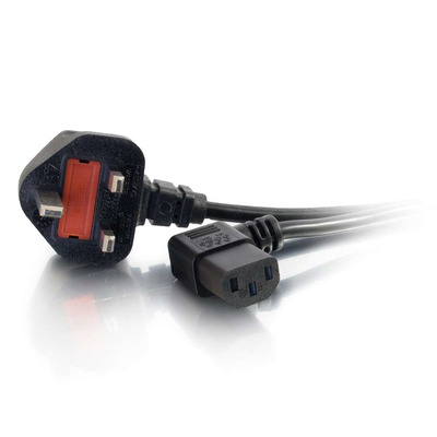 C2G 5m Power Cable Electriciteitssnoer - Zwart