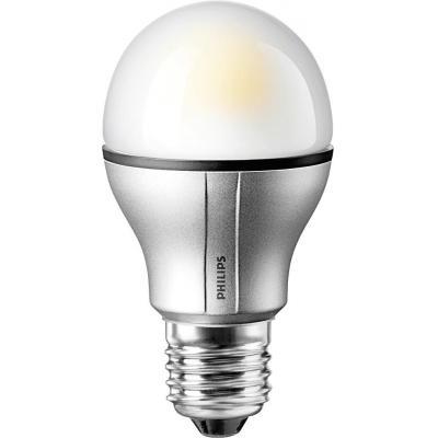 Philips led lamp: MASTER LEDbulb - Zilver, Wit